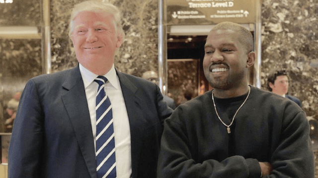 "Kanye gave Trump an ""artsy"" book of nudes, because of course he did."