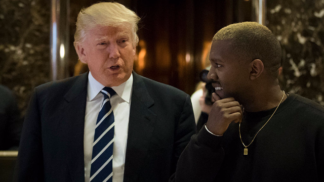 Kanye West tweeted that he loves Trump and Kim Kardashian had to intervene.