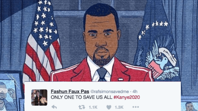 13 tweets from people who believe #Kanye2020 will save us all.