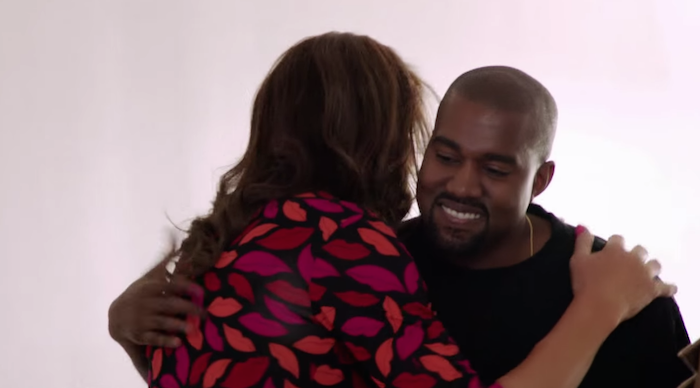 Kanye West praises Caitlyn Jenner in the most Kanye way possible.