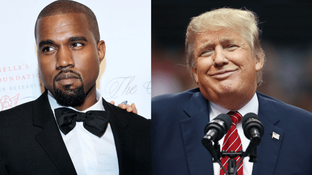 An anonymous source claims that Kanye West supports Trump, probably because they both like ranting on Twitter.