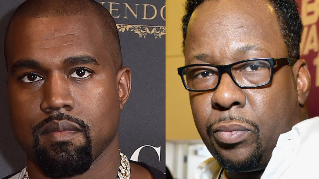 Bobby Brown threatens Kanye West over controversial use of Whitney Houston bathroom photo.