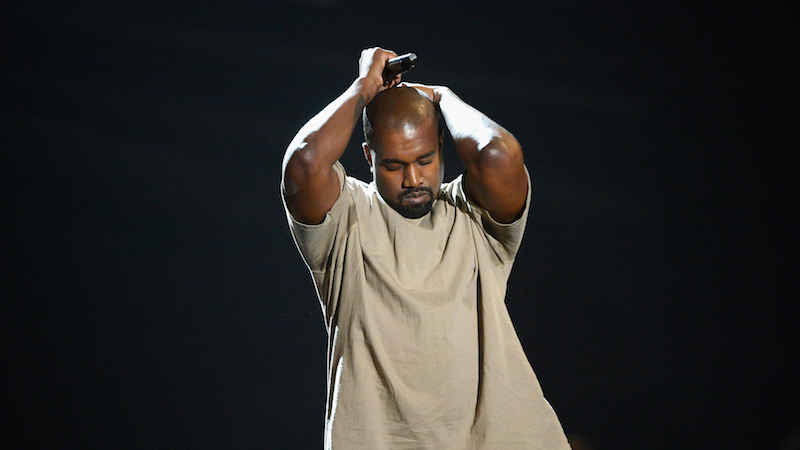 """Kanye's Yeezy fashion line offers basic b*tch items at """"I think I can be President"""" prices."""