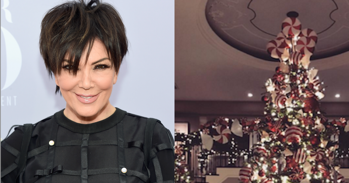 The Kardashian family\'s Christmas decor is about as subtle as you\'d ...