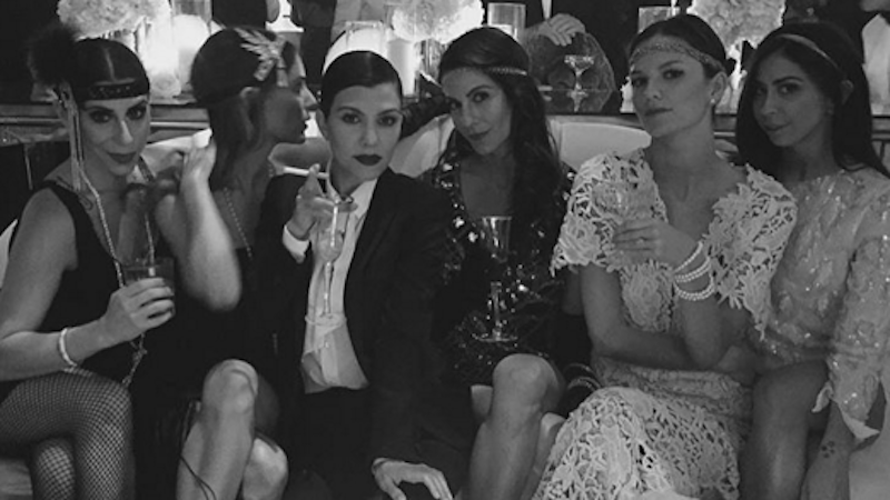 The Kardashians threw a 'Great Gatsby' party and don't realize why it's hilarious.