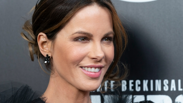 Kate Beckinsale responds to people on Instagram saying she's too old to post bikini photos.