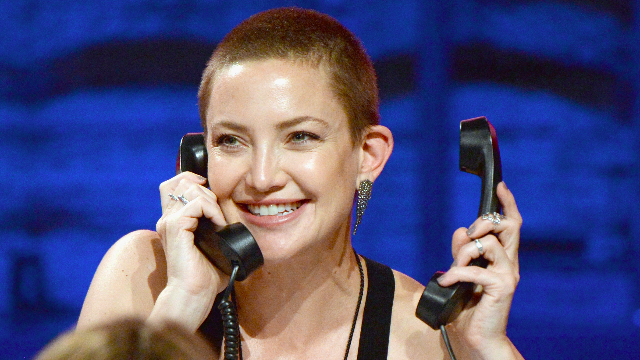 Kate Hudson's son is not a fan of her buzzcut for the funniest reason.