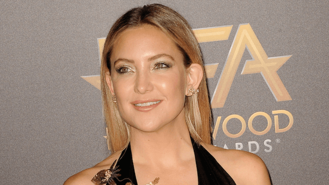 Kate Hudson shaved her head and she's nearly unrecognizable.