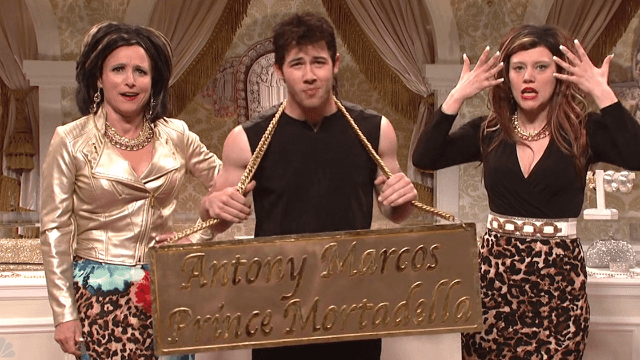 Let Kate McKinnon, Julia Louis-Dreyfus and Nick Jonas sell you jewelry you can see from space.