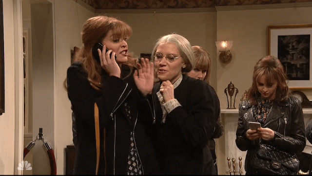 Watch millennial feminists deal with a very annoying Susan B. Anthony in this 'SNL' sketch.