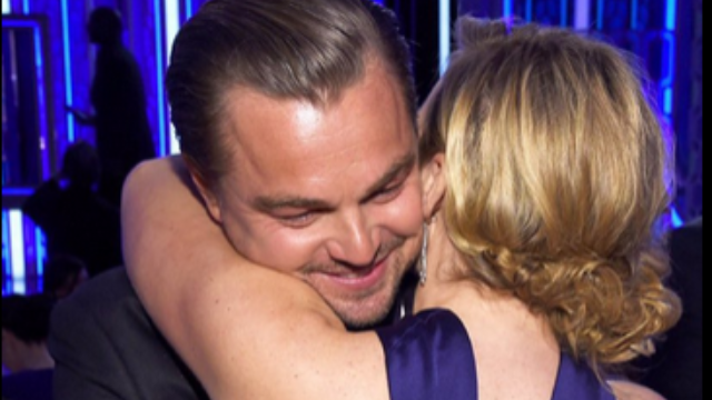 Watching Kate and Leo reunite at the Golden Globes will make you wish he dated women over 25.