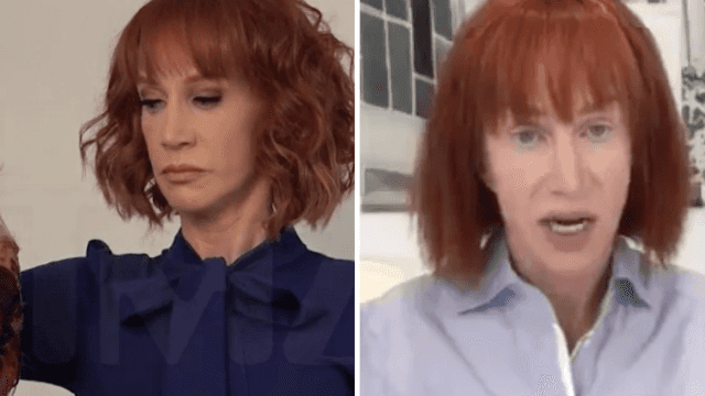 Kathy Griffin apologizes for gory photoshoot with Donald Trump's 'decapitated' head.