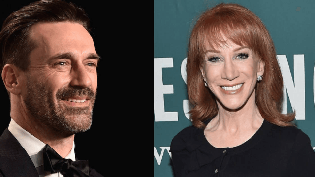 Kathy Griffin gleefully recalls the time a drunk Jon Hamm started insulting her.