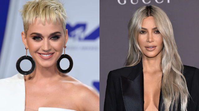 Katy Perry roasts Kim Kardashian's 90s makeup in throwback