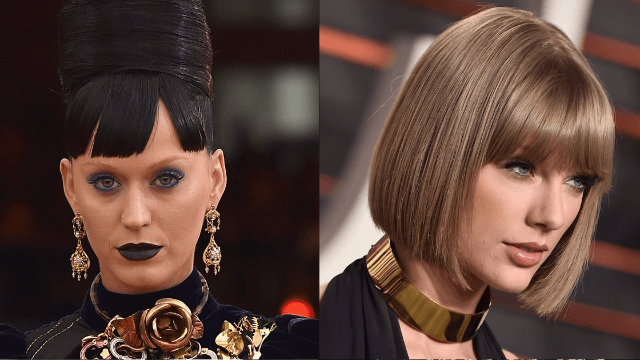 Hacker mockingly tweets Taylor Swift from Katy Perry's account. It wasn't a publicity stunt for 'Bad Blood.'