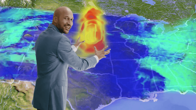 Keegan Michael Key delivers the world's scariest weather report to get you to go vote.