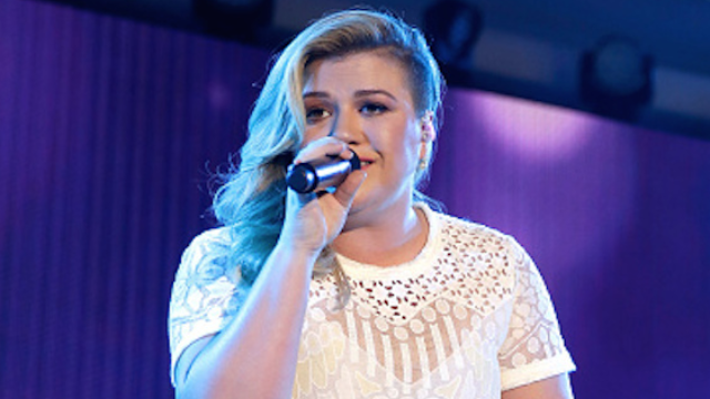 In celebrity barfing news, Kelly Clarkson opens up (no pun intended) about crazy morning sickness.
