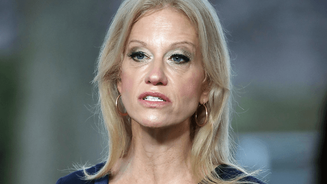 Dictionary slams Kellyanne Conway's 'alternative' definition of feminism with cheeky tweet.