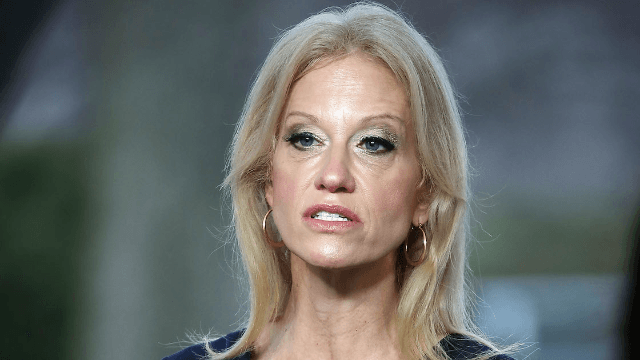 Trump advisor Kellyanne Conway reportedly got in a fist fight at the inaugural ball.