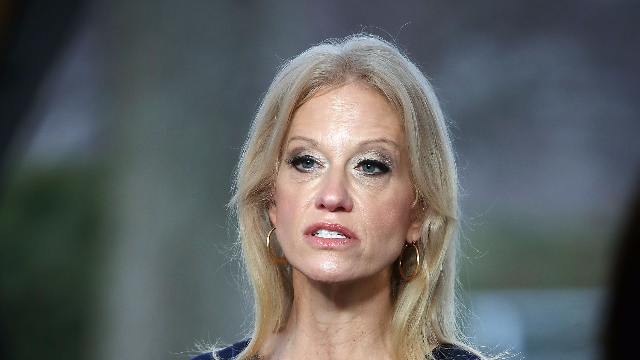 Kellyanne Conway just had one of her worst moments ever on 'Fox & Friends.'
