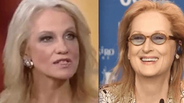 Meryl Streep blasted by Kellyanne Conway, Meghan McCain for slamming Trump.