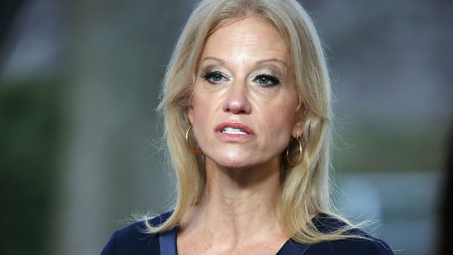 Kellyanne Conway accidentally called Trump the 'Commander of Cheese.' The jokes are sharp.