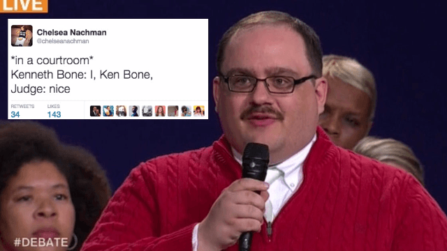 The 24 funniest responses to the man who won the second Trump v. Clinton debate: Ken Bone.