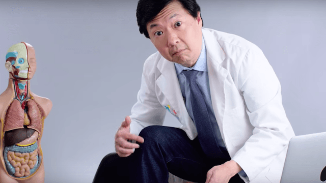 Ken Jeong answered Twitter's most common medical questions and made us feel stupid for asking them.