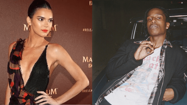 Kendall Jenner proves she's cut from the family cloth by having a 'fling' with rapper A$AP Rocky.