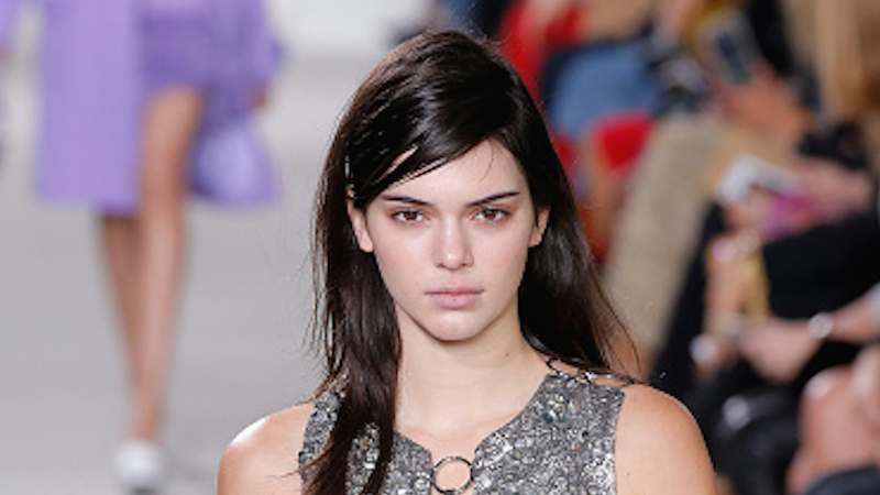 Nation weeps as Kendall Jenner tearfully announces she found a gray hair.