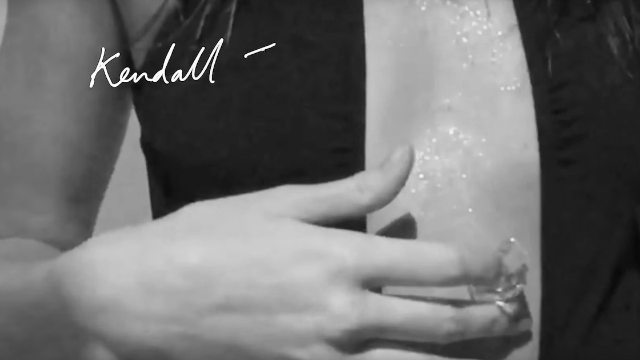 Kendall Jenner rubs ice on herself in Calvin Klein ad like a normal, relatable woman.
