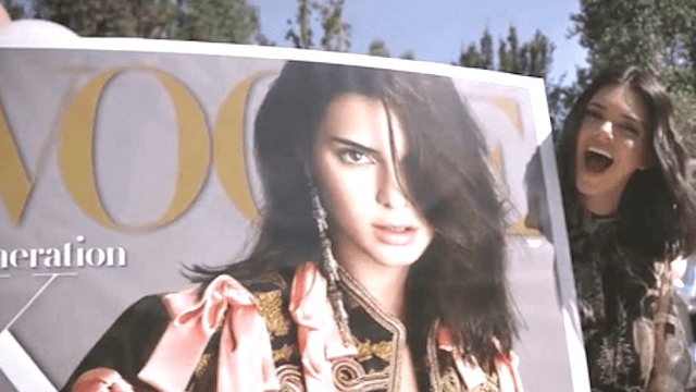 Kendall Jenner scores 'Vogue' September cover, demands to be taken seriously.