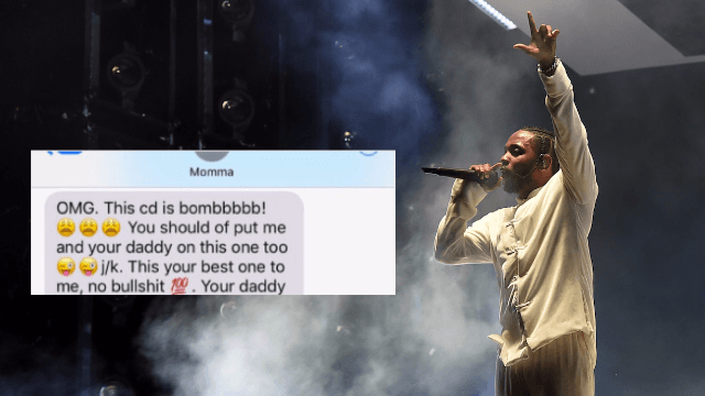 Kendrick Lamar's mom texted him a review his album and it's the cutest thing we've seen.