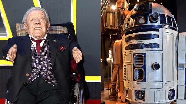 R.I.P. Kenny Baker, the actor inside of R2-D2.