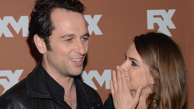 Keri Russell and Matthew Rhys of 'The Americans' are hatching something besides a plot.