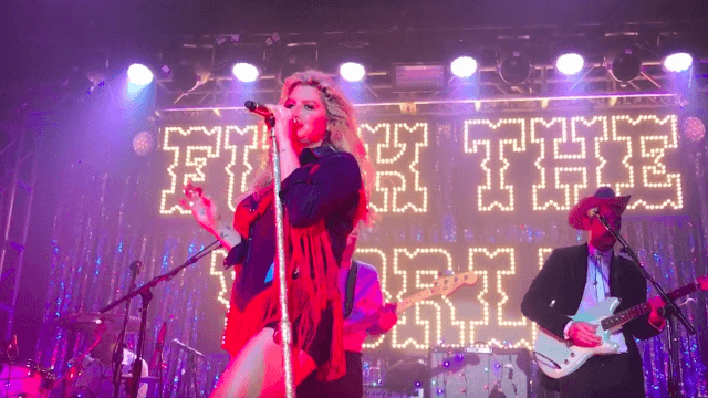 Kesha sings perfectly defiant 'You Don't Own Me' on the Brooklyn stop of her F*ck The World Tour.