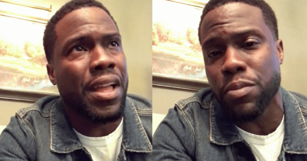 Kevin Hart apologizes to his family for cheating. He did it all on Instagram.