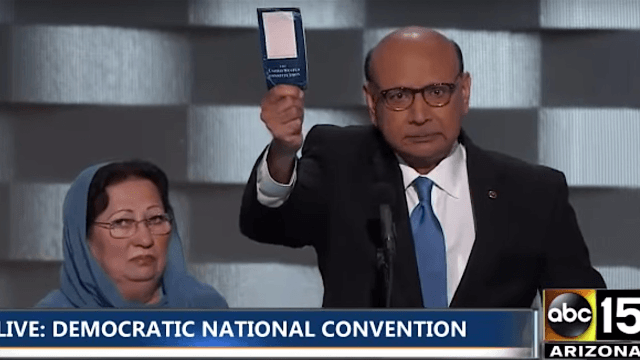 Muslim father of soldier killed in Iraq goes viral for his challenge to Donald Trump.