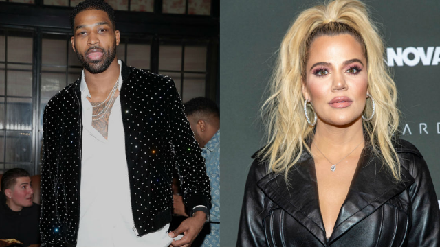 fc6a6093 Khloe Kardashian and Tristan Thompson broke up after rumors he cheated with  Kylie's BFF. RIP Twitter.