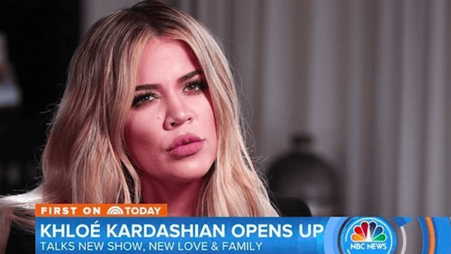 Watch how Khloe Kardashian masterfully shuts down victim-blaming questions about her sister.