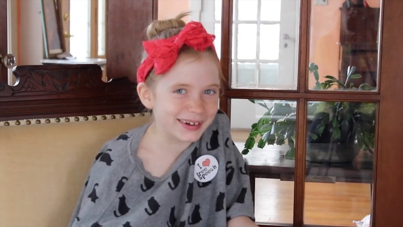 9-year-old journalist who broke murder story hits back at critics who say she should be playing.