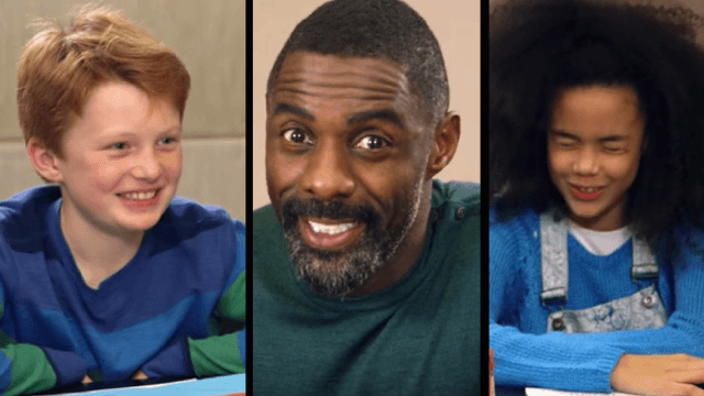 Watch kids give Idris Elba some pretty solid dating advice.