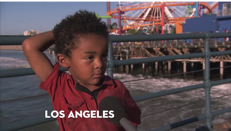 Watch kids from Los Angeles and New York adorably trash talk the other city on 'Kimmel.'
