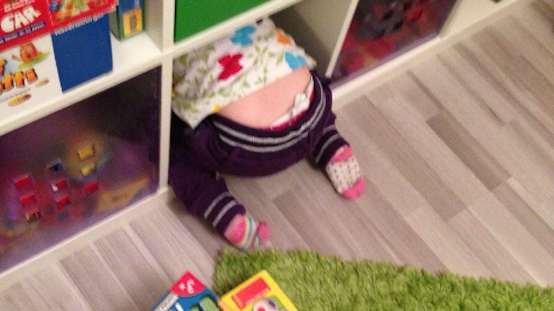 17 kids who totally suck at playing hide-and-seek.