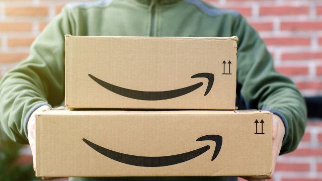 Amazon driver kills giant spider outside woman's front door in viral TikTok.
