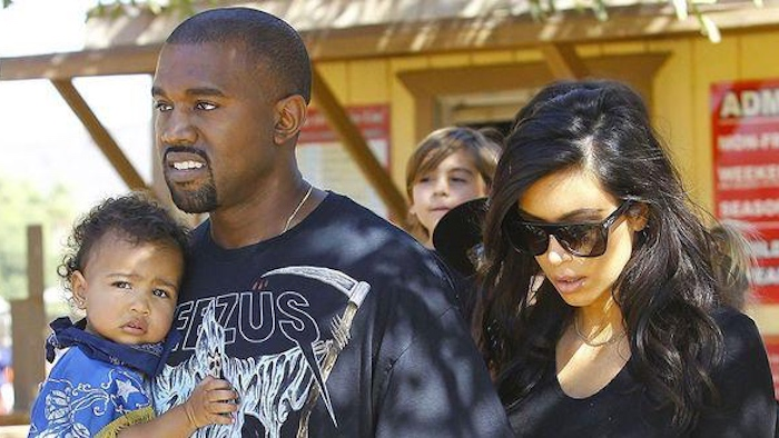 Kim and Kanye's son has a name, and it's slightly less of a pun than North.