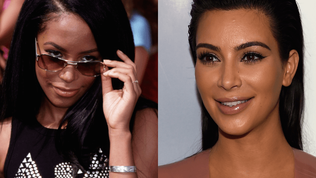 Kim Kardashian is in trouble for her Aaliyah costume. And not because of the nip slip.