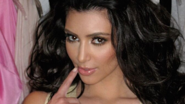 Kim Kardashian uses tape to get her boobs looking awesome under outfits.