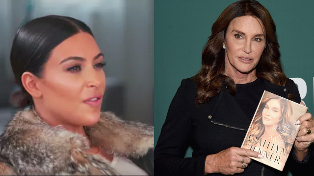 Kim Kardashian just went off on Caitlyn Jenner for saying shady sh*t about the OJ trial.
