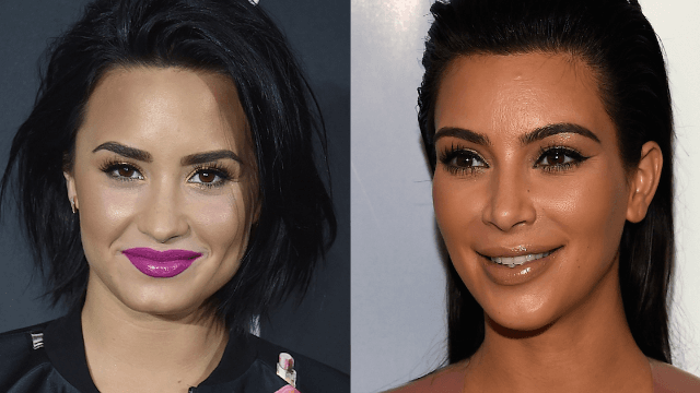 Kim Kardashian and Demi Lovato both dressed up as Selena. They got very different reactions.